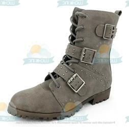 Rampage Toney Women's Zip Up Combat Boots