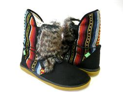 SANUK TRIPPER FLURRY WOMEN BOOTS BLACK US 10 / UK 8 /EU 41