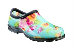 Sloggers Turquoise Pansy Waterproof Shoe Women's
