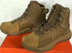 Under Armour Men's UA Valsetz Side Zip Tactical Boots 10 Bla