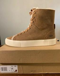 UGG BEVEN HIGH TOP 1104070 CHESTNUT SIZE 11 WOMAN, 100% AUTH
