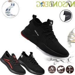 US Women's Sneakers Safety Shoes Work Steel Toe Boots Indest