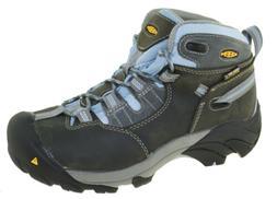 Keen Utility Women's Detroit Mid Work Boots Magnet/Blue Bell