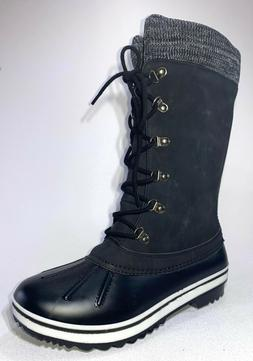 Forever VALUE-15 Womens Black Casual Rubber/Synthetic Rain B