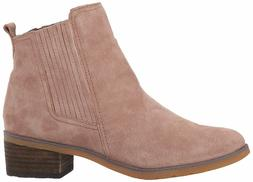 Reef Voyage Boot Taupe Women's Suede Ankle Chelsea Bootie RF