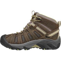 KEEN Voyageur Mid Hiking Boot - Women's Brindle/Custard, 8.0
