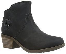 Teva Women's W Foxy Ankle Boot, Black, 7.5 M US
