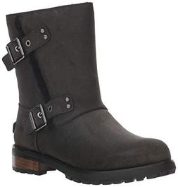 UGG Women's W Niels II Fashion Boot, Black, 10 M US