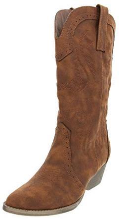 Rampage Womens Wamblee2 Cowboy Western Mid Shaft Boot 10 Cog