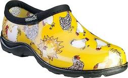 Sloggers Women's Waterproof Comfort Shoe 10 Chicken Yellow