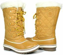 Globalwin Waterproof Winter Boots, Wheat, 9