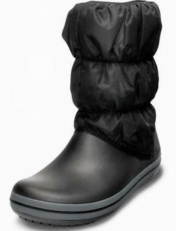 winter puff boot wom snow