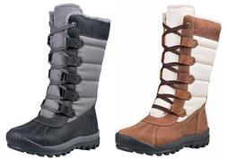 Timberland Woman's Mt. Hayes Tall Waterproof Boots White / B