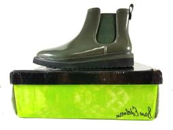 Sam Edelman Woman's Size 9 M Rain Boots Dark Green Kallum