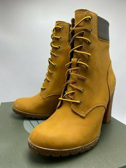 Women TIMBERLAND GLANCY Boots Wheat , Sz 8.0 - 9.5, 100% AUT