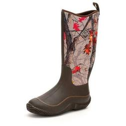 Muck Boots Women Hale Brown/Hot Leaf Camo Neoprene Waterproo