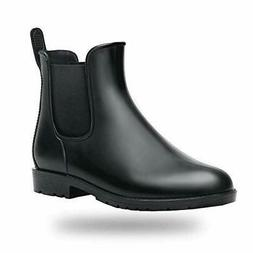 babaka Women Rain Boots Waterproof Ankle Garden Shoes Anti-S