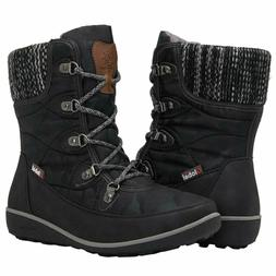GLOBALWIN Women's 1839 Winter Snow Boots, Size 8