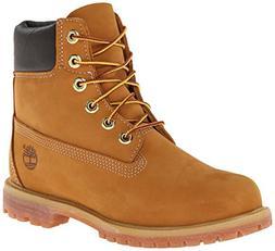 Timberland Women's 6-Inch Premium Boot,Wheat,9 M US