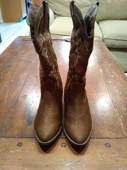 Rampage women's 9.5 cowboy boots
