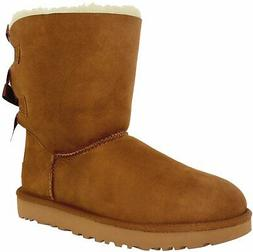 Ugg Women's Bailey Bow II Ankle-High Suede Snow Boot