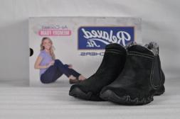 Women's Skechers Bikers-Londoner Ankle Boots Black