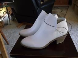 Women's Boots Booties Shoes Size 11 NWT OFF WHITE