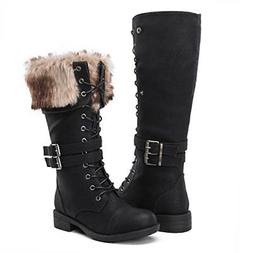Women's Boots Winter snow Fashion, Global Win, faux-fur, Syn