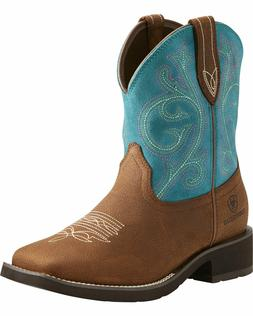 ARIAT Women's Brown Shasta H20 Waterproof Square Toe Boots 1