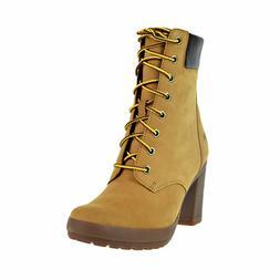 Timberland Women's Camdale 6 Inch Boots Wheat Nubuck 9.5M
