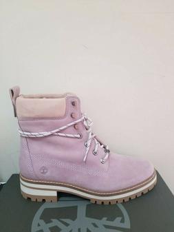 "Timberland Women's Courmayeur Valley 6"" Lace-Up Boots  NIB"