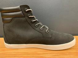 Timberland Women's Dausette Shoe Sneaker Boot Black Nubuck A