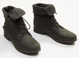 Women's Teva De La Vina Lace Leather Boots Waterproof Size S