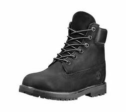 """Timberland Women's Earthkeepers 6"""" Premium Boot Black Smooth"""
