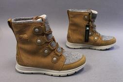 Sorel Women's Explorer Joan Waterproof Winter Boots SC4 Came