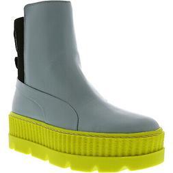 Puma Women's Fenty X Chelsea Sneaker Boot Mid-Calf Leather