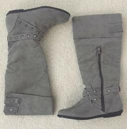 Rampage Women's Gray Boots 5.5 M New