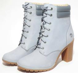 Timberland Women's Gray Tillston 6 inch High Heel Leather Bo