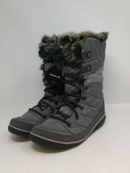 women s grey snow boots size 6