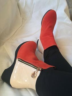Women's High Fashion Zipper Ankle Boots