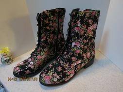 Women's HIGH TOP FANCY Boots High Top Casual  -BRAND NEW!!