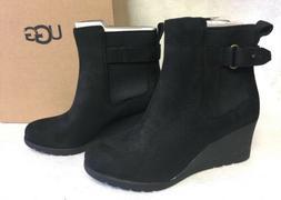 UGG Australia Women's Indra Waterproof Wedge Boots Booties A