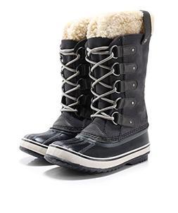 SOREL Women's Joan of Arctic Boot, Dark Grey Black, 8 M US