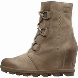 Sorel - Women's Joan of Arctic Wedge II Ankle Boot, Ash Brow