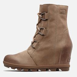 SOREL Women's Joan of Arctic Wedge II Boots, Ash Brown, 8.5
