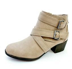 Rampage Juliet Women's Zip Up Dress Ankle Boots