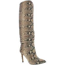 Vince Camuto Women's Kashiana Leather Slouchy Knee-High Tall