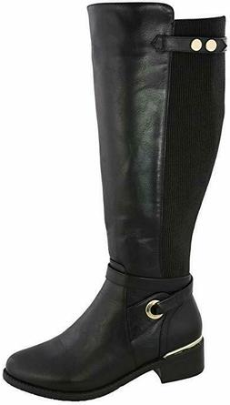 Top Moda Women's Kendall-8 Knee High Riding Boot Size 9