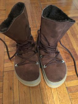 Birkenstock Women's Masi Shearling Boots 38 N Brand New
