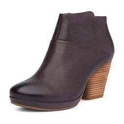 women s miley ankle boot chocolate burnished